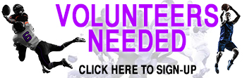 volunteers needed banner